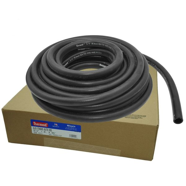 1//2x50 Black Heater Hose