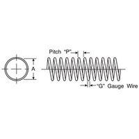 WIRE SPRING GUARD 1.278 ID